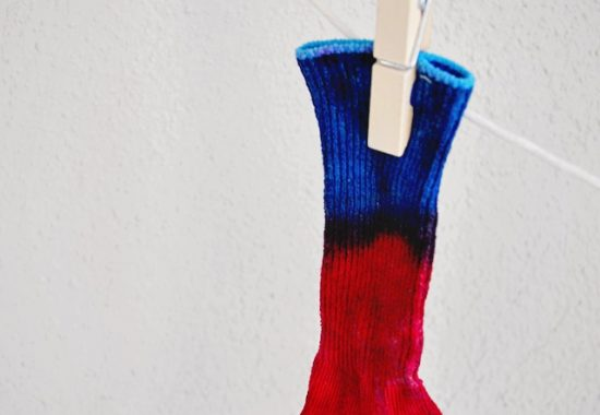 Toddler Tie-Dye DIY Socks
