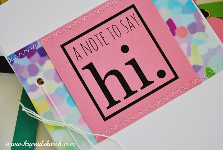 A Note to Say Hi