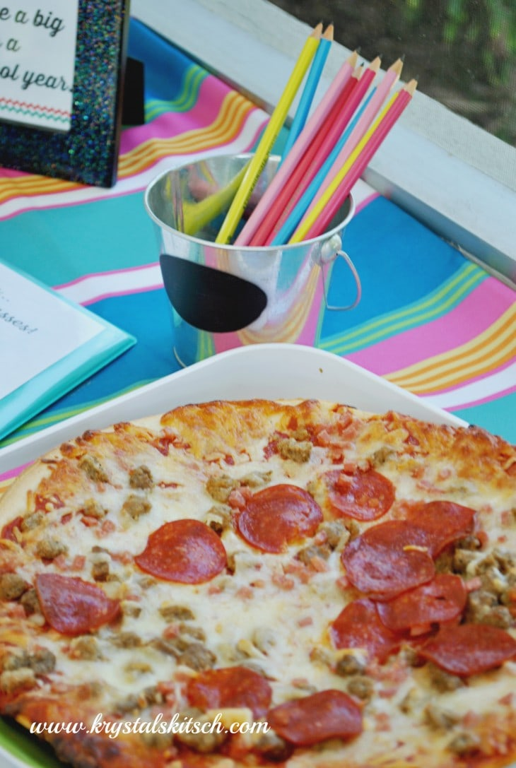 Back to School Pizza Party