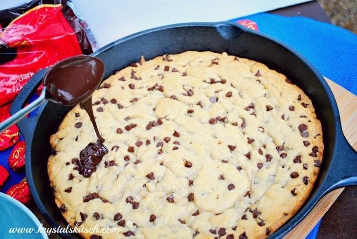 Chocolate Chip Skillet Cookie Recipe