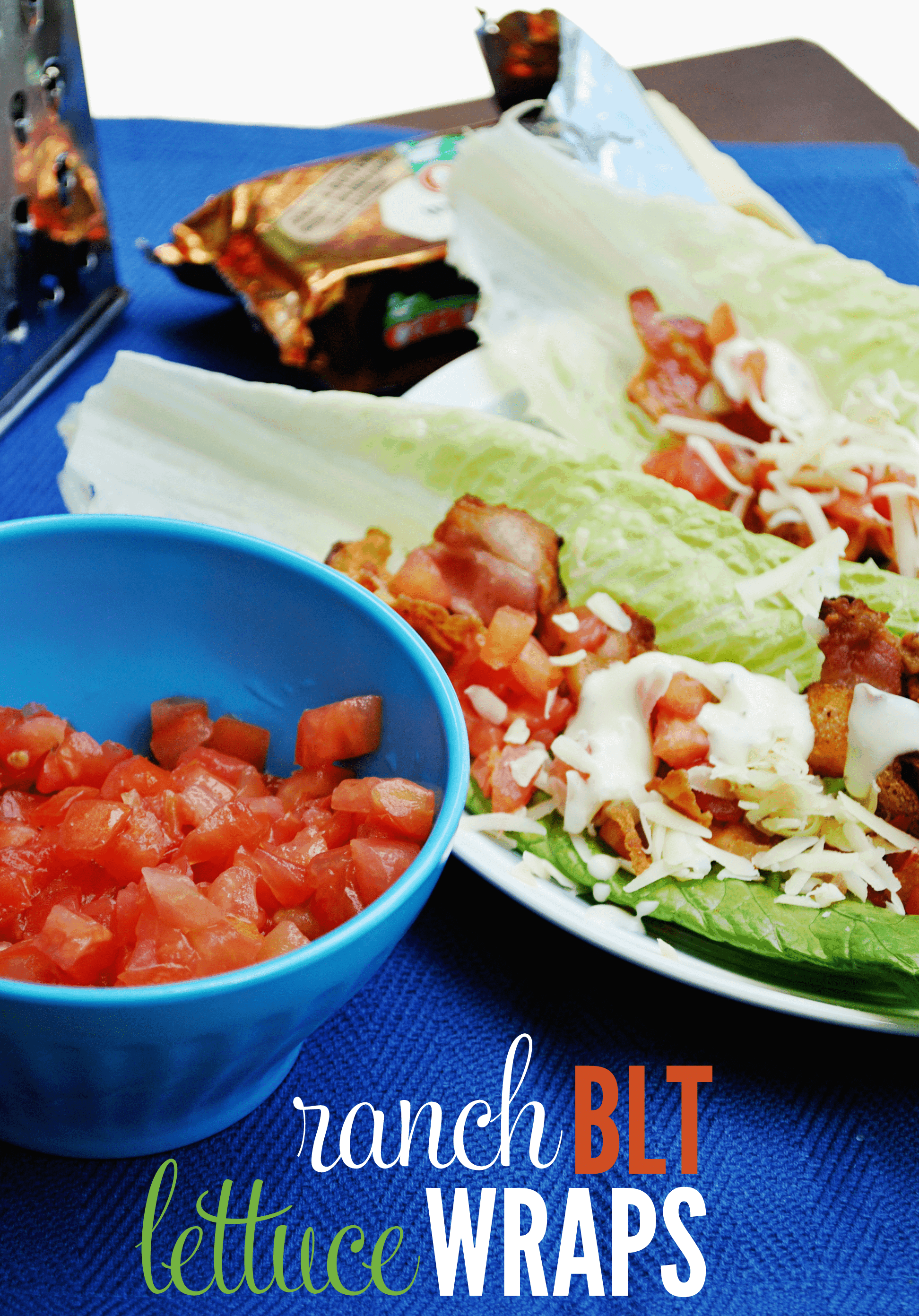 Ranch BLT Lettuce Wraps