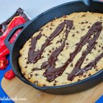 Dove Dark Chocolate Chip Skillet Cookie Recipe
