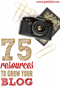 75 Resources to Grow Your Blog