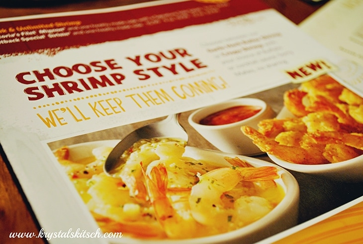Outback Steakhouse Shrimp
