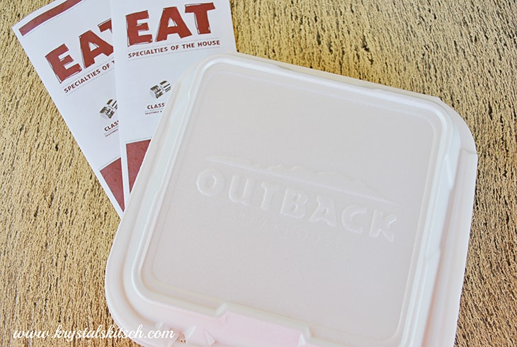 Outback Steakhouse To Go