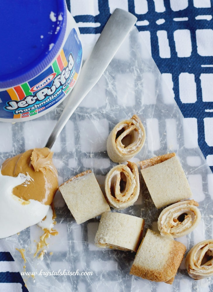 Peanut Butter Roll Up