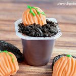 Halloween Dessert: Pumpkin Patch Pudding