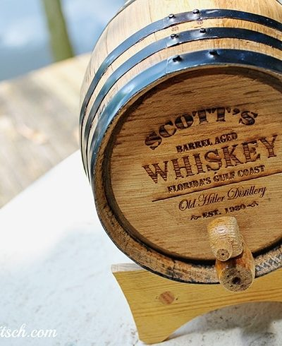Uncommon Goods Whiskey Barrel