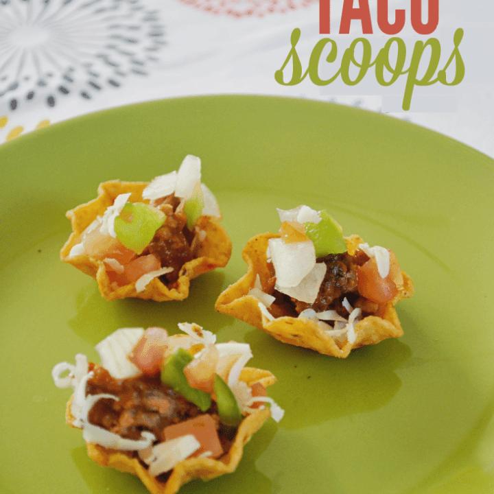 Easy Taco Scoops