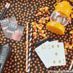 Halloween Treats: Create a Party Favor