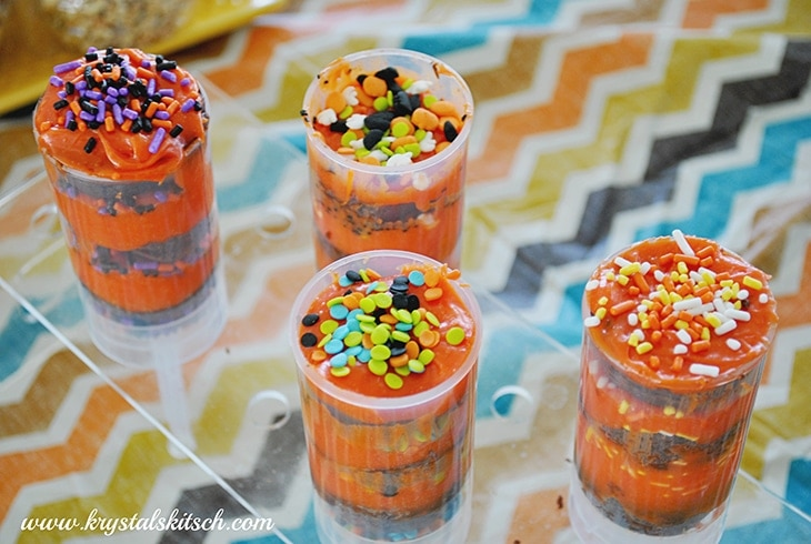 Halloween Push Pops