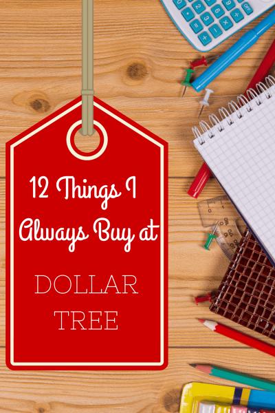 Dollar Tree Essentials