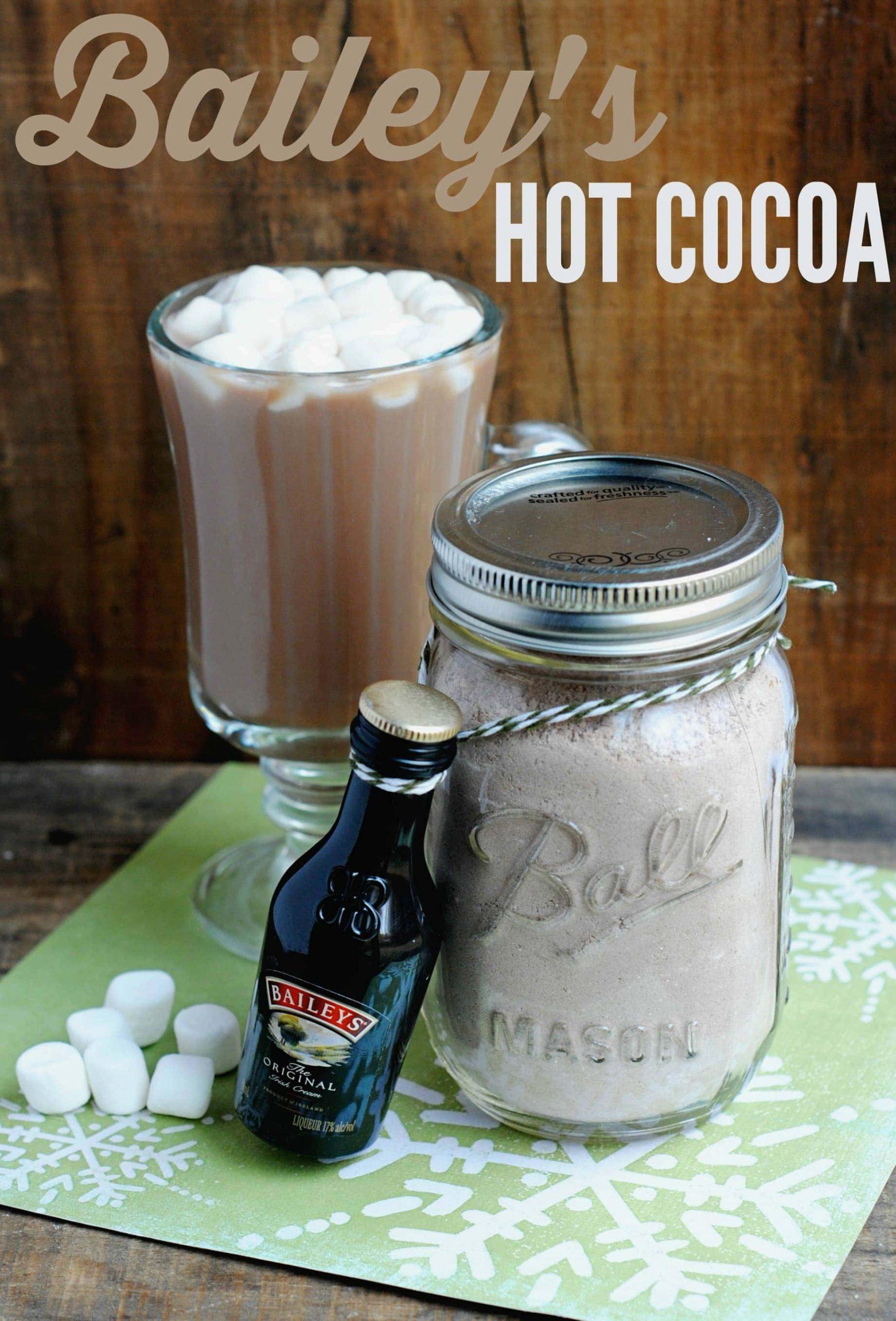 Bailey's Hot Cocoa Recipe + DIY Gift