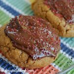 Dark Chocolate Gingerbread Cookies