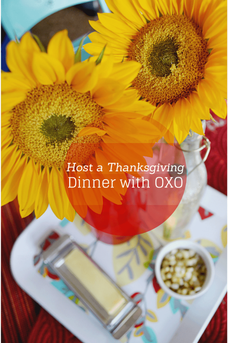 Host a Thanksgiving dinner with easy to use tools from OXO.