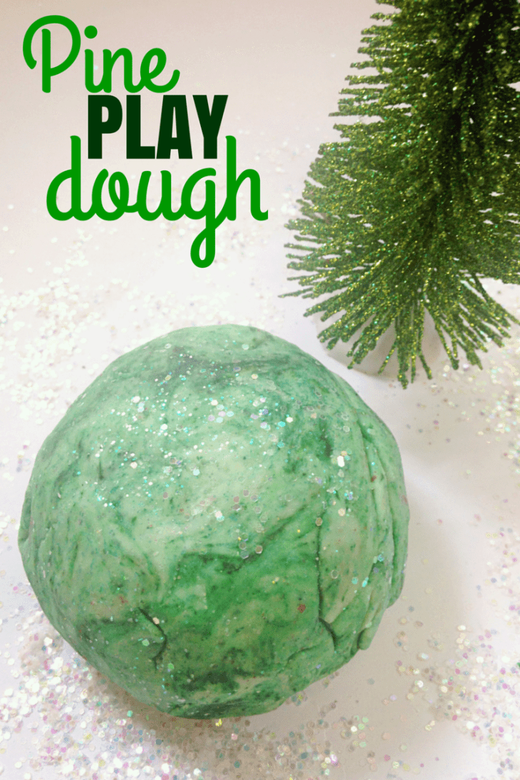 Pine Play Dough
