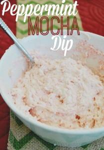 Peppermint Mocha Dip