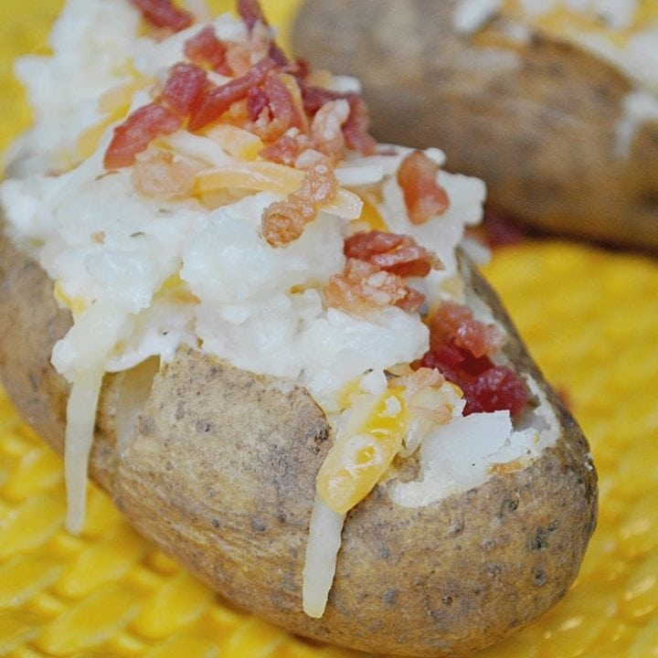 Ranch Twice Baked Potatoes