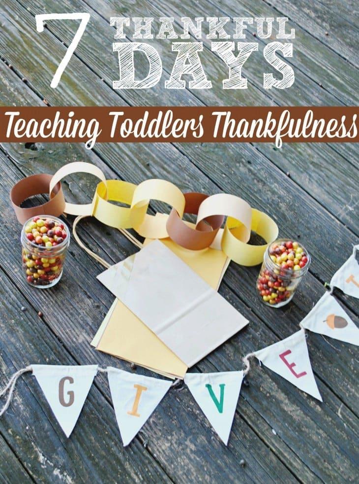 Teach your toddler thankfulness with these fun ideas to celebrate Thanksgiving. Enjoy the season with these craft and family activities.