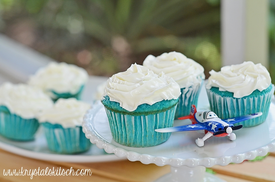 Planes Cupcake Recipe
