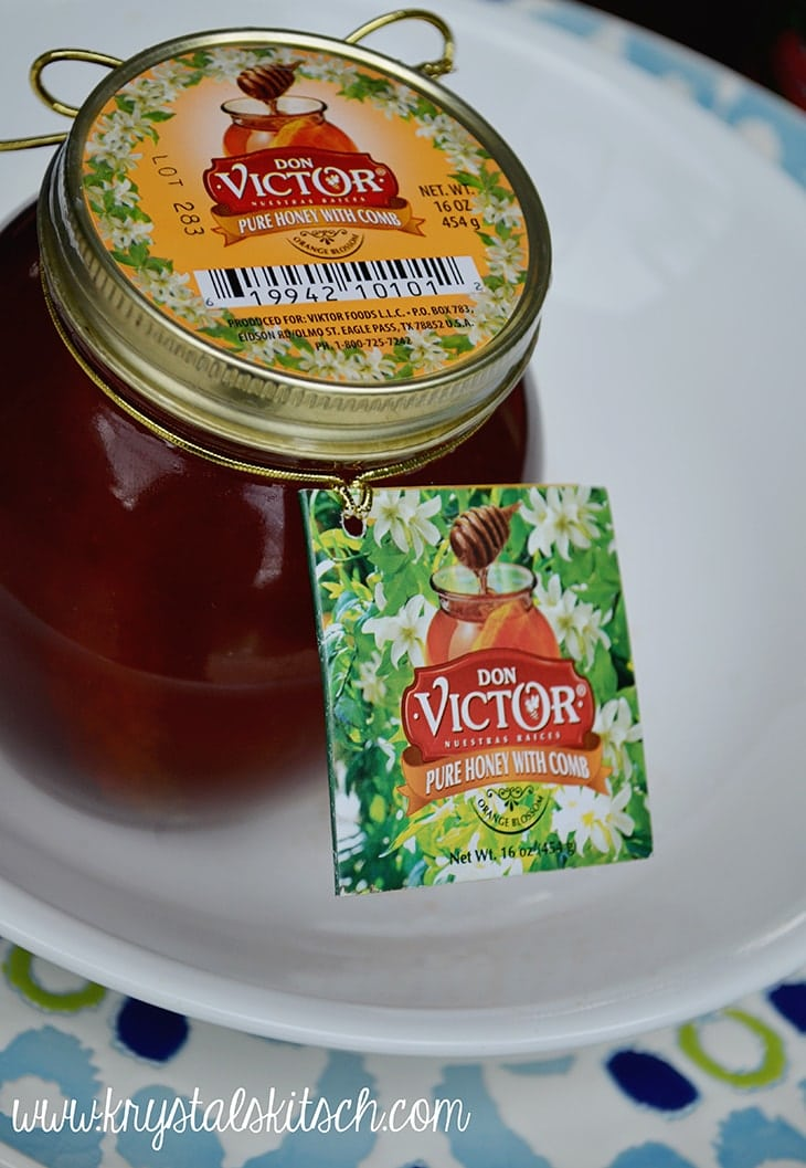 Serve dinner with a kick! Try Don Victor pure honey.