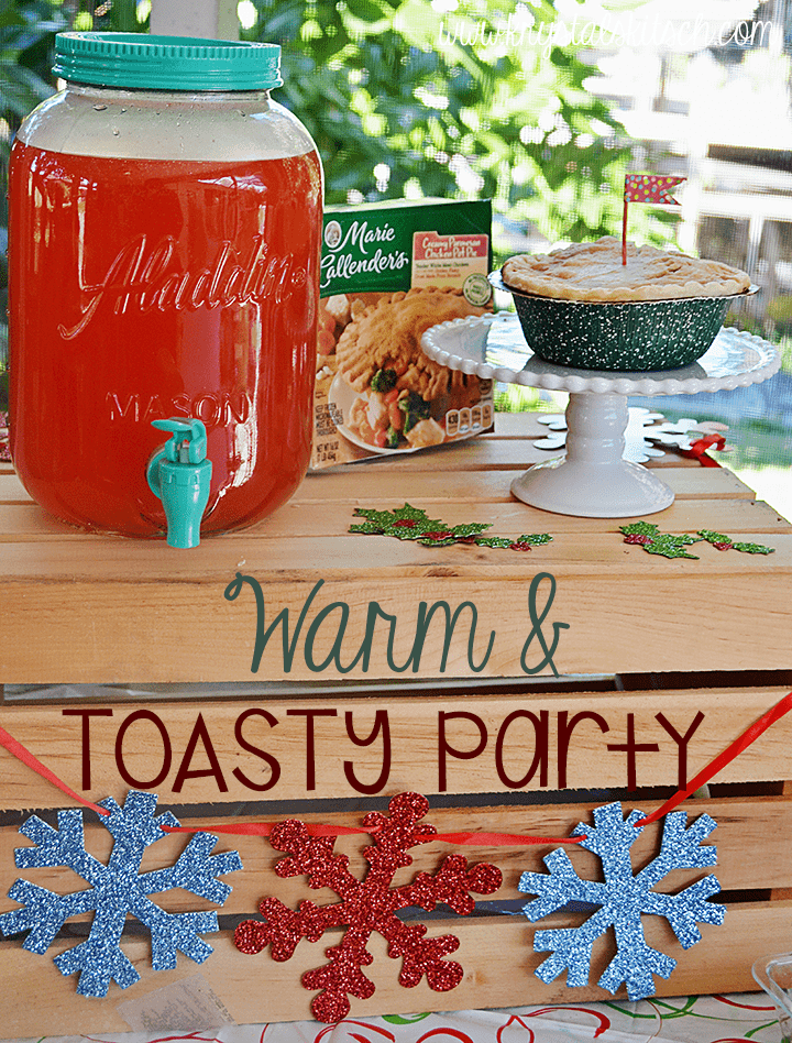 Host a Warm and Toasty Winter Party | Pot Pie Party Ideas