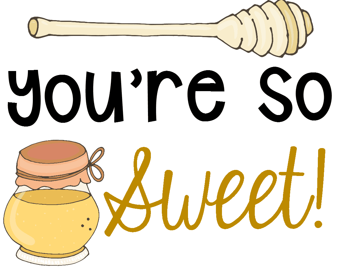 You're So Sweet Gift Tag