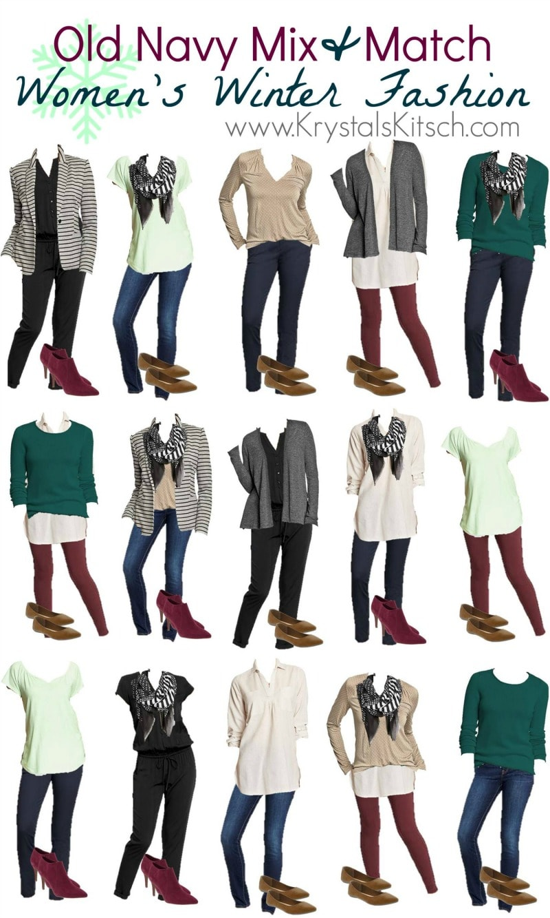 Old Navy Women S Winter Outfit Ideas