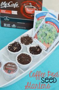 Coffee Pod Seed Starters