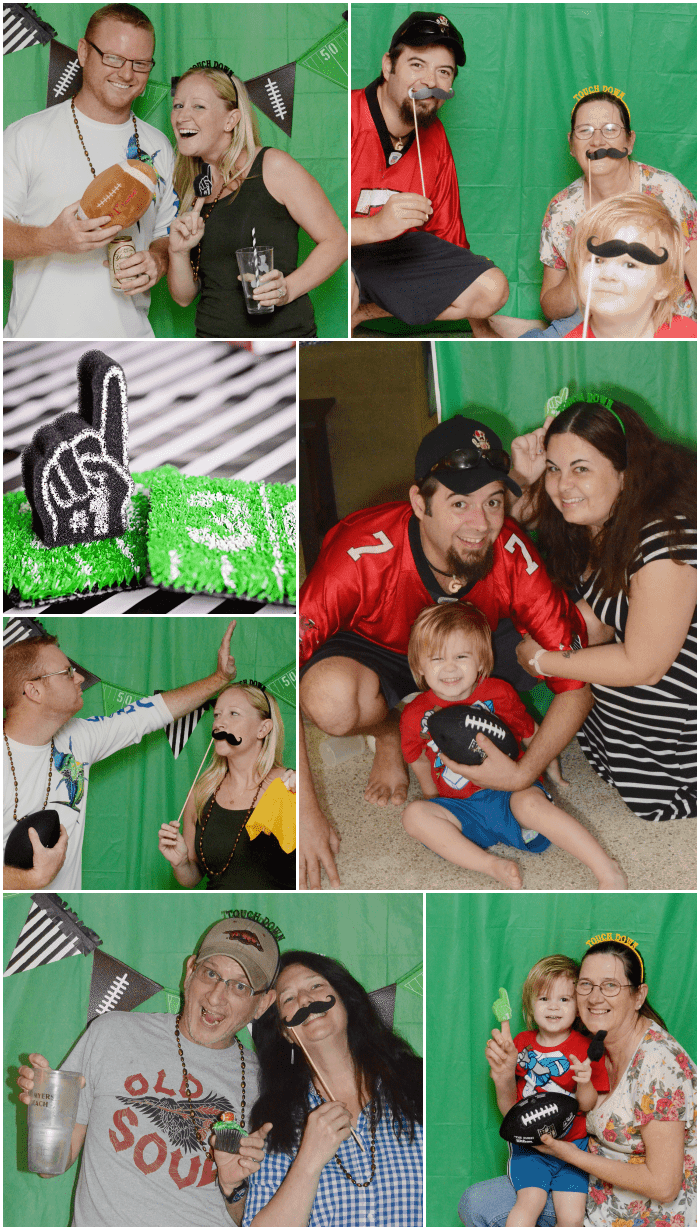 Football Photo Booth Ideas