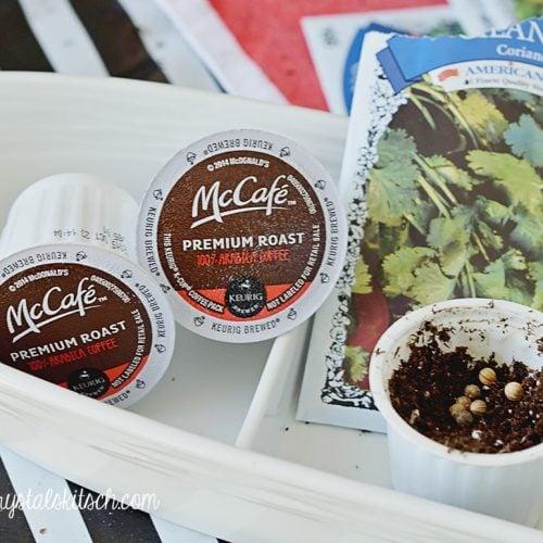 Coffee Pod Garden DIY