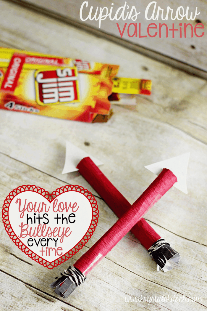 Slim Jim Arrow Valentines