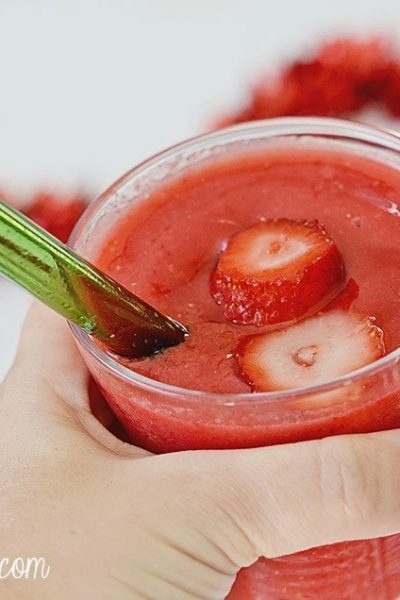 Strawberry Grapefruit Smoothie