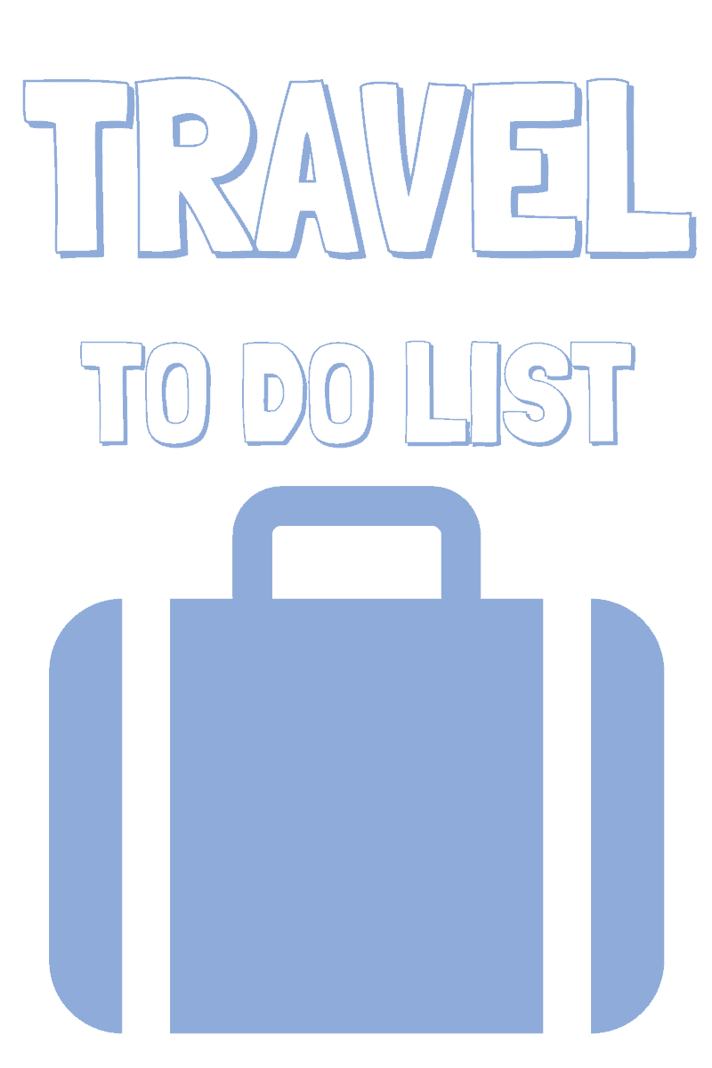 Theme Park Travel Checklist