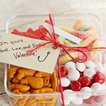 Easy Valentine's Day Cards + Crafts: Tackle Box Treats