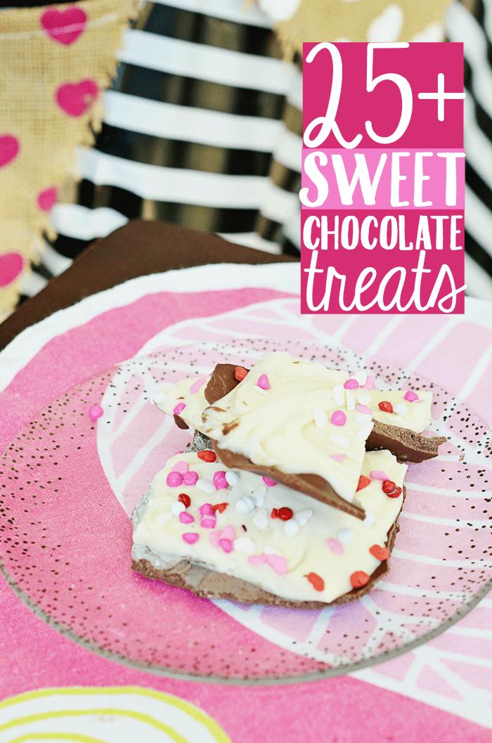 25+ Sweet Chocolate Treats: White Chocolate Bark