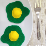 Celebrate Dr. Seuss Day: No Sew Green Eggs