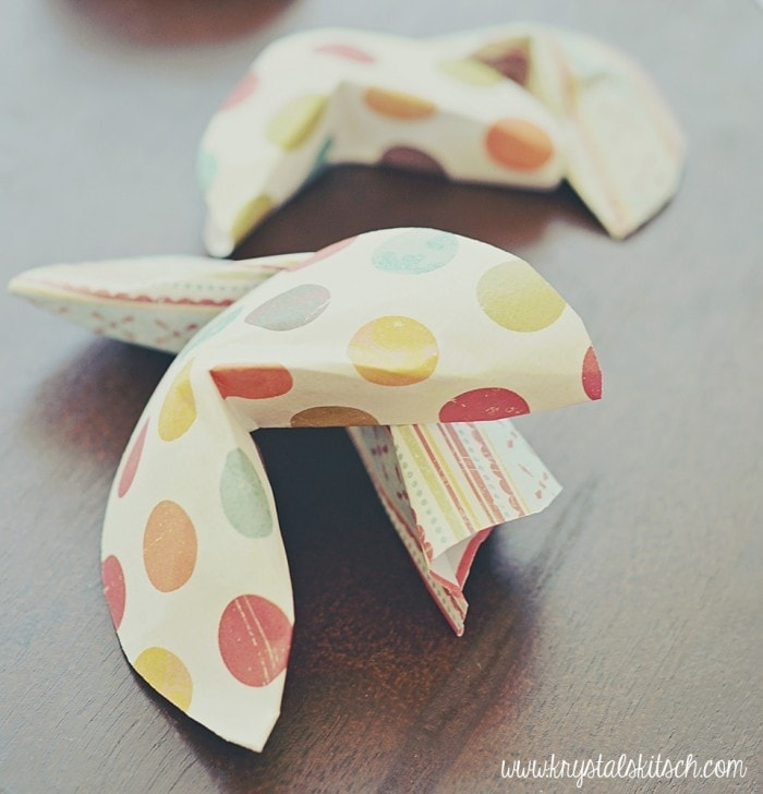 Fortune Cookie Crafts