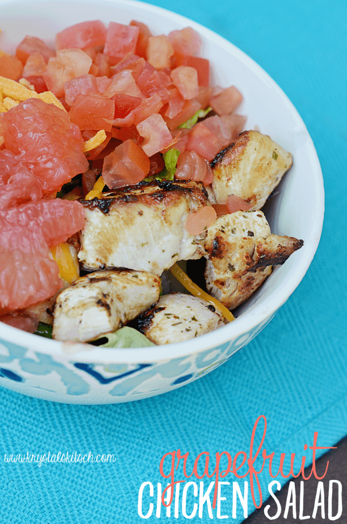 Grapefruit Chicken Salad Recipe