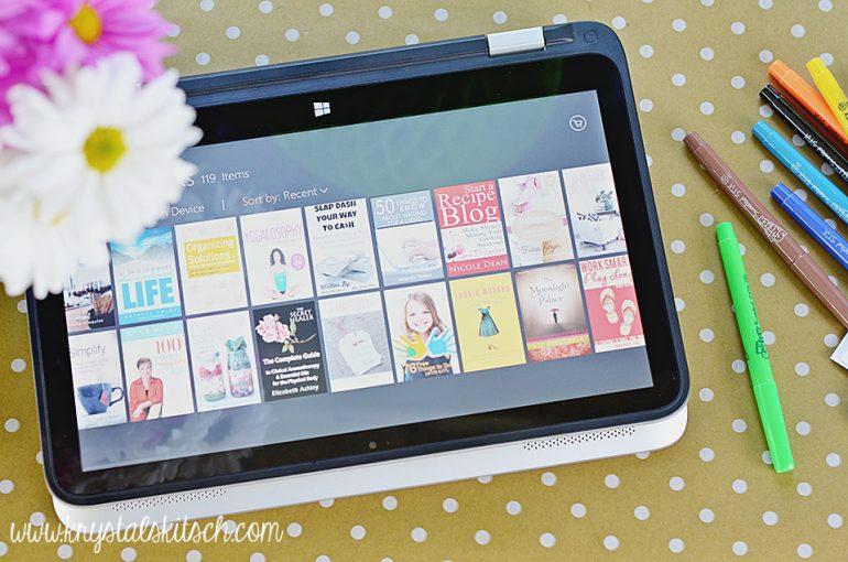 HP Laptop Kindle