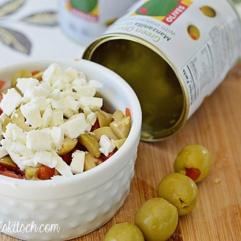 Olive Feta Bruschetta