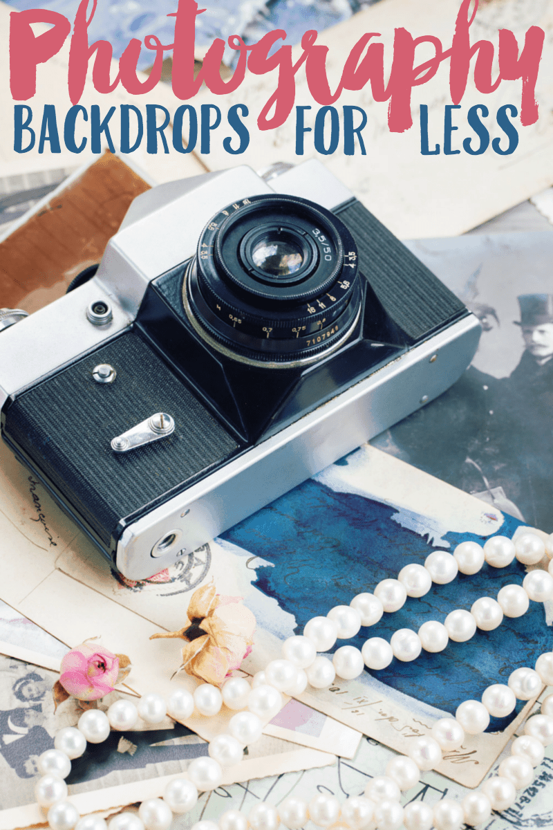 Photography Backdrops For Less