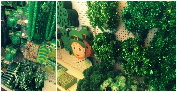 St Patricks Day DEcor