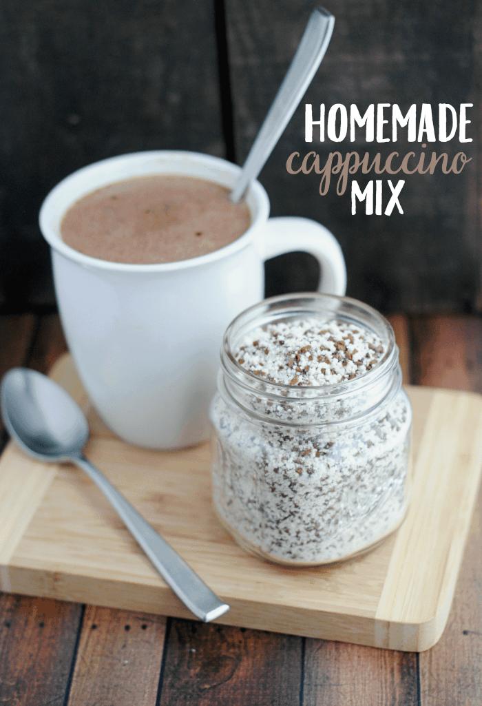 Homemade Cappuccino Mix