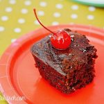 Cherry Coke Cake + Coke Float Recipes