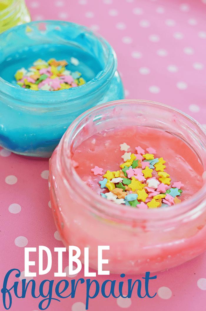 Edible Fingerpaint