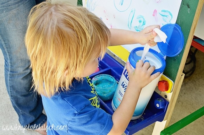 DIY Edible Fingerpaint Recipe