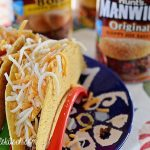 Sloppy Joe Tacos With Cilantro Ranch