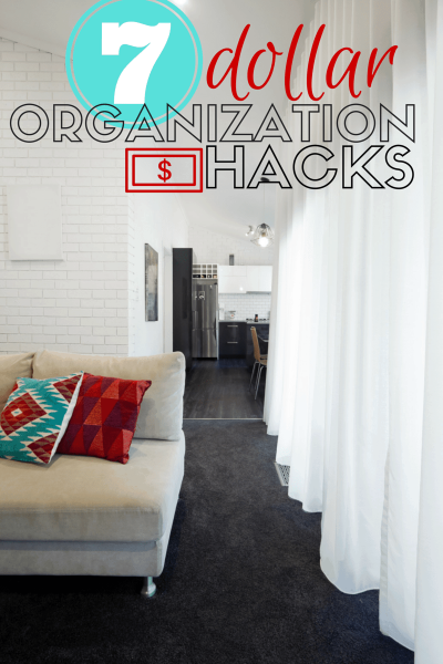 7 Dollar Tree Organization Hacks