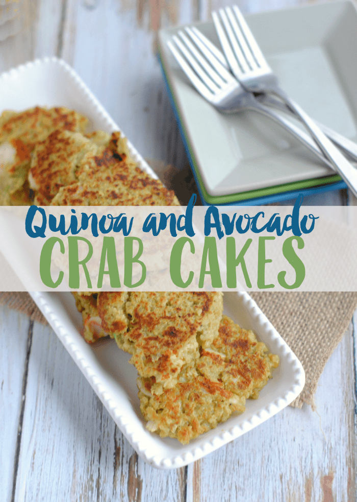Avocado Crab Cakes